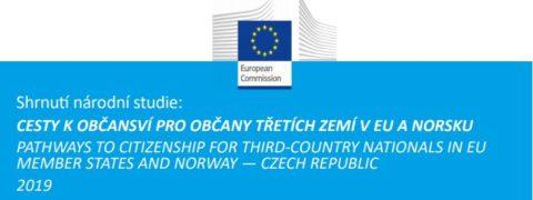 Shrnutí národní studie na cesty k občanství pro občany třetích zemí v EU a Norsku - Česká republika