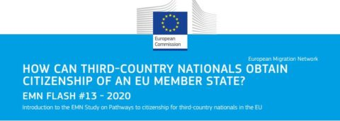 Pathways to citizenship for third-country nationals in the EU (Flash)