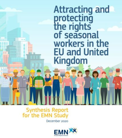 Info balíček ke studii EMN na téma Attracting and Protecting Seasonal Workers from third countries in the EU