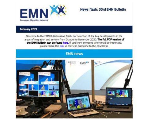 EMN Bulletin - 33. vydání (říjen-prosinec 2020) Flash