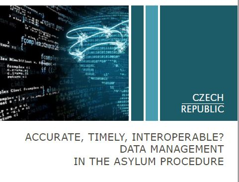 Accurate, timely, interoperable? Data management in the asylum procedure (info balíček)