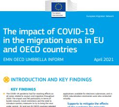The impact of COVID-19 in the migration area in EU and OECD countries (EMN and OECD Umbrella inform)