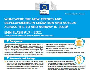 Annual Report on Migration and Asylum 2020 (Flash)