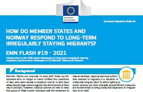 Responses to long-term irregularly staying migrants: practices and challenges in the EU and Norway (Flash)