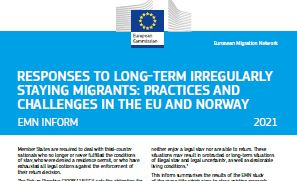 Responses to long-term irregularly staying migrants: practices and challenges in the EU and Norway (Inform)